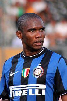 Samuel Eto'o Inter Milan