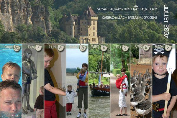 Petite carte postale - Thilde