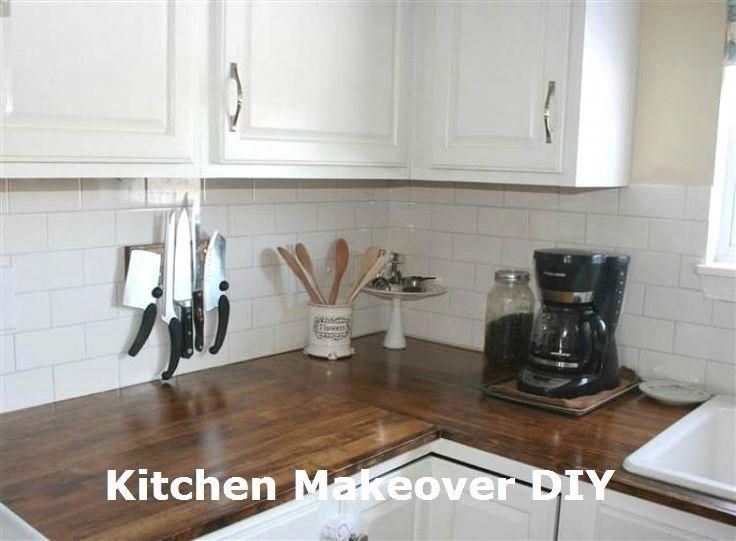 Sentimental Advanced Kitchen Remodel On A Budget Subscribe Now Diy Wood Countertops Kitchen Diy Makeover Kitchen Remodel Countertops