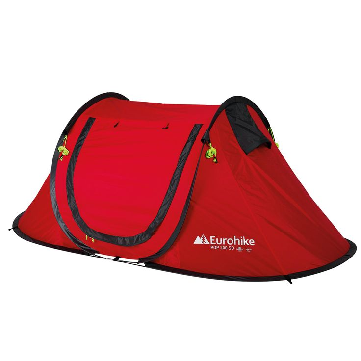Eurohike Pop Up 200 SD 2 Man Tent, Red  #CyclingBargains #DealFinder #Bike #BikeBargains #Fitness Visit our web site to find the best Cycling Bargains from over 450,000 searchable products from all the top Stores, we are also on Facebook, Twitter & have a http://campingtentlovers.com/best-pop-up-tents/