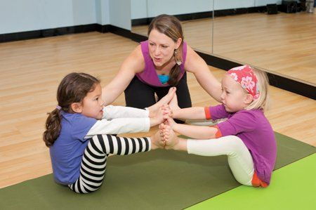 Mini Meditators: Yoga for Kids