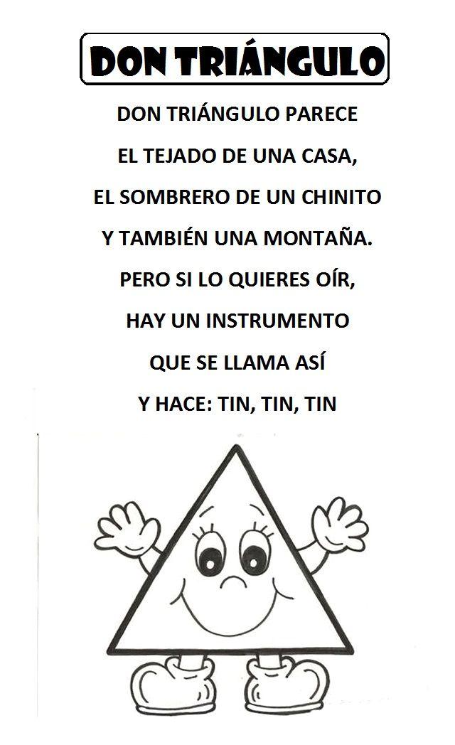 Pin De Laura So Ma En Manualidades Figuras Geometricas Para Preescolar Figuras Geometricas Para Niños Poemas De Preescolar
