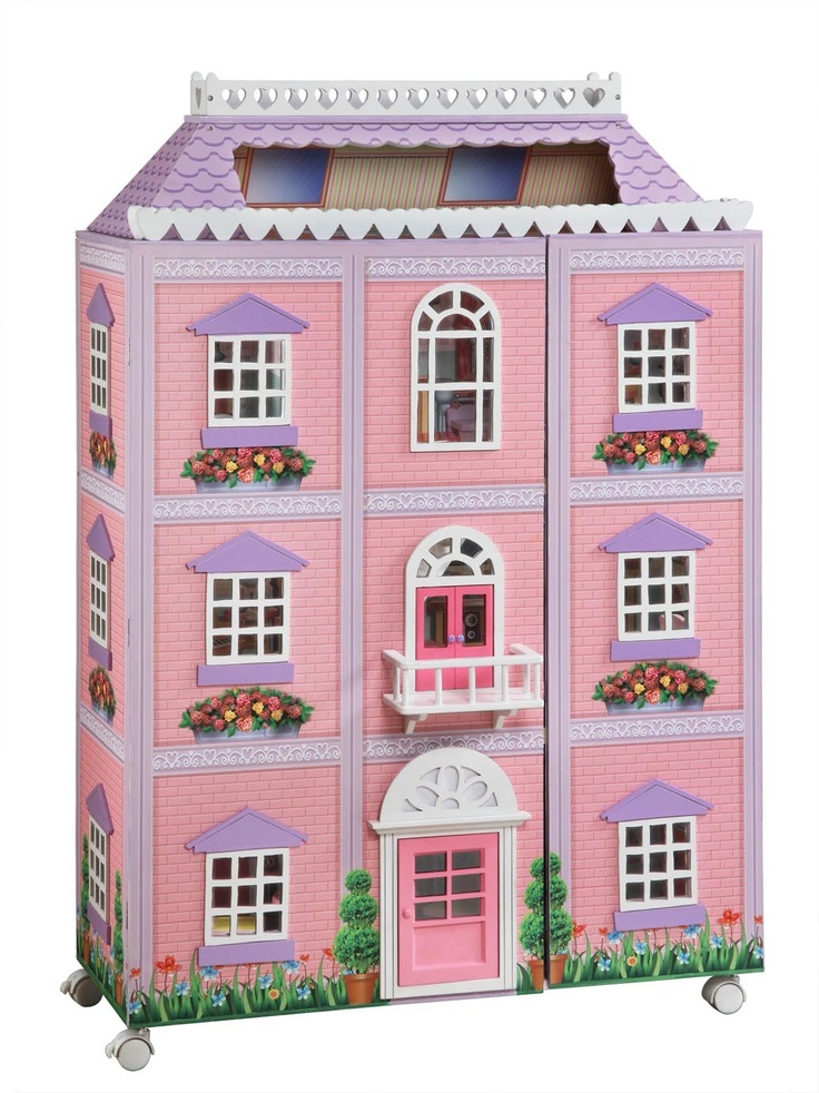 7 Best Wooden Doll Houses Images On Pinterest Dollhouses