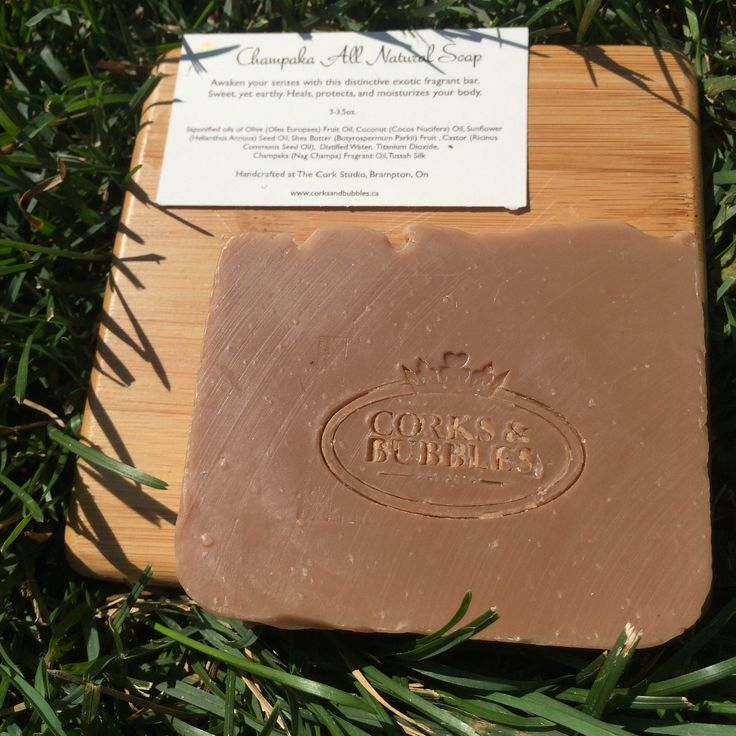 Champaka All natural Soap http://www.corksandbubbles.ca/shop-online.html#!/Champaka-All-Natural-Soap/p/55002330/category=0