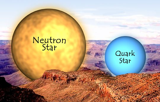 Neutron Star vs Quark Star