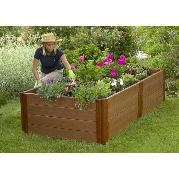 Raised Wooden Garden Boxes   Google Search