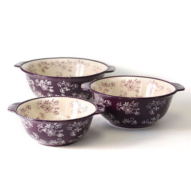 temp-tations® by Tara temp-tations® Set of 3 Floral Lace  sc 1 st  Pinterest & 357 best temptation dreaming images on Pinterest | Bakeware Dishes ...