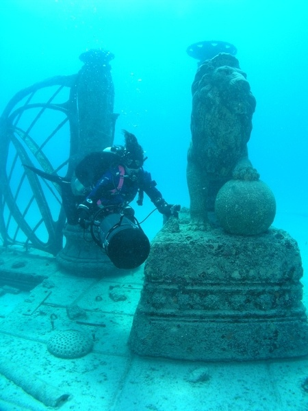 The Neptune Memorial Reef aka the Atlantis Memorial Reef or the Atlantis Reef is the world's first underwater mausoleum for cremated remains.