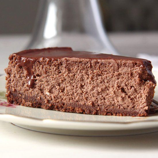 Nigella Lawson's incredible chocolate cheesecake.