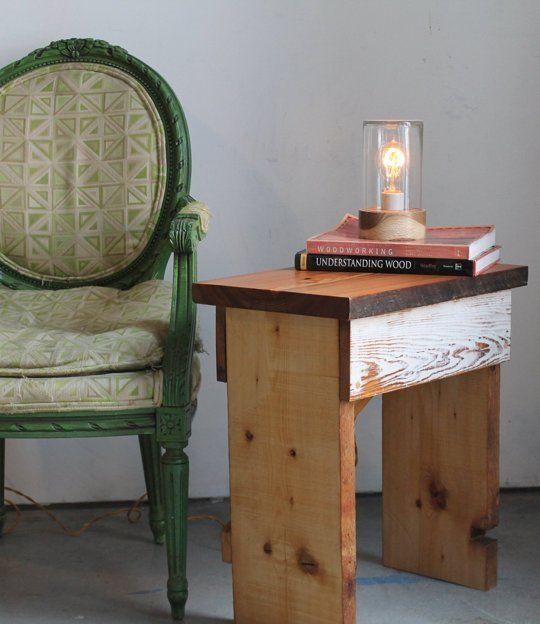 how to make a simple scrap wood end table u2014 apartment therapy videos