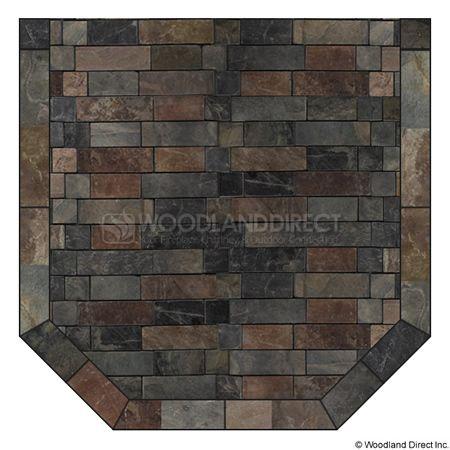 Heritage Standard Hearth Pad - Western Flagstone · Wood Stove ... - Best 25+ Hearth Pad Ideas On Pinterest Rustic Freestanding