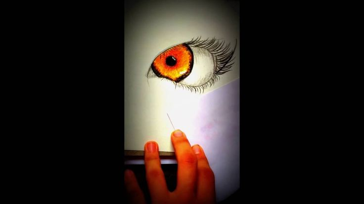 DRAWING EYE - TIME LAPSE | HpArtNetwork