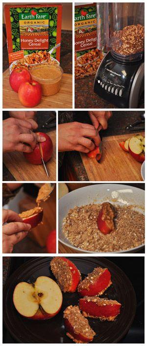 Sandy Apple Snacks!