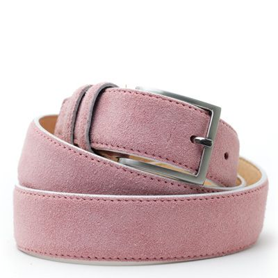 Suede riem: Sweet Pink by ColorMeSocks™
