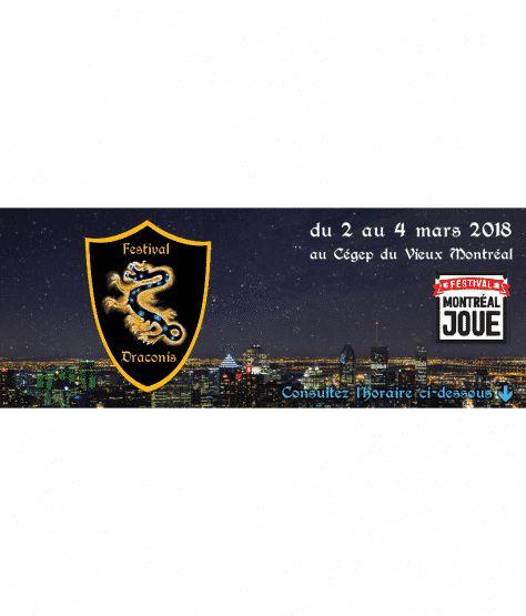 ICYMI: Le Festival Draconis 2018 arrive à grands pas!: Le Festival Draconis 2018 arrive à grands pas!