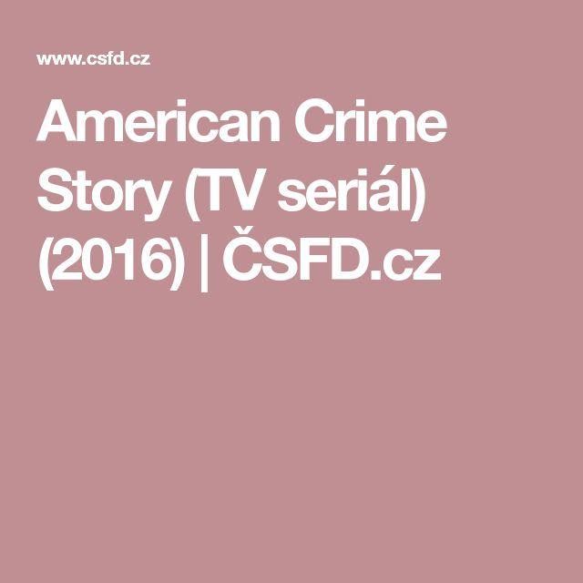 American Crime Story (TV seriál) (2016)   ČSFD.cz