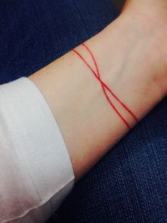 red string of fate tattoo - Bing images