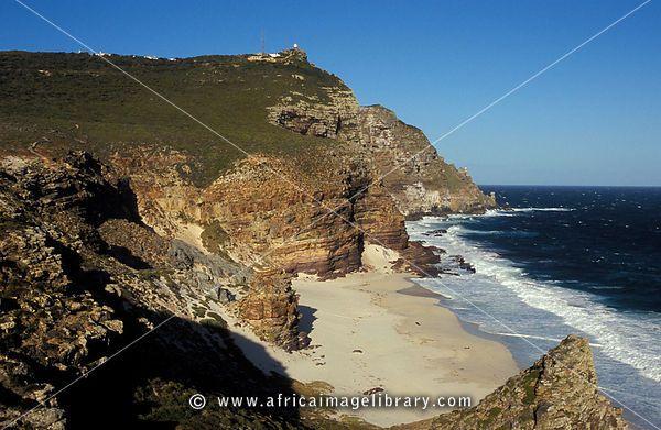 Rugged coastline, Cape of Good Hope, Cape Peninsula, South Africa