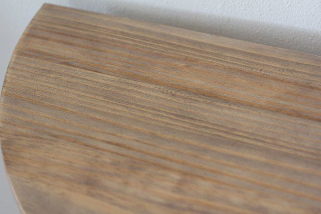Give An Ikea Console Table A Bleached Wood Look Using This Secret Ingredient Bleached Wood Oak Wood Stain Weathered Oak Stain