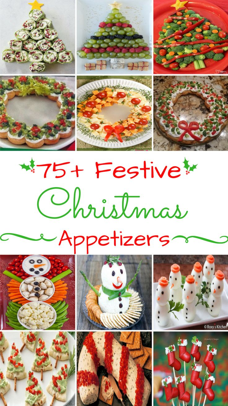 75 Festive Christmas Appetizers