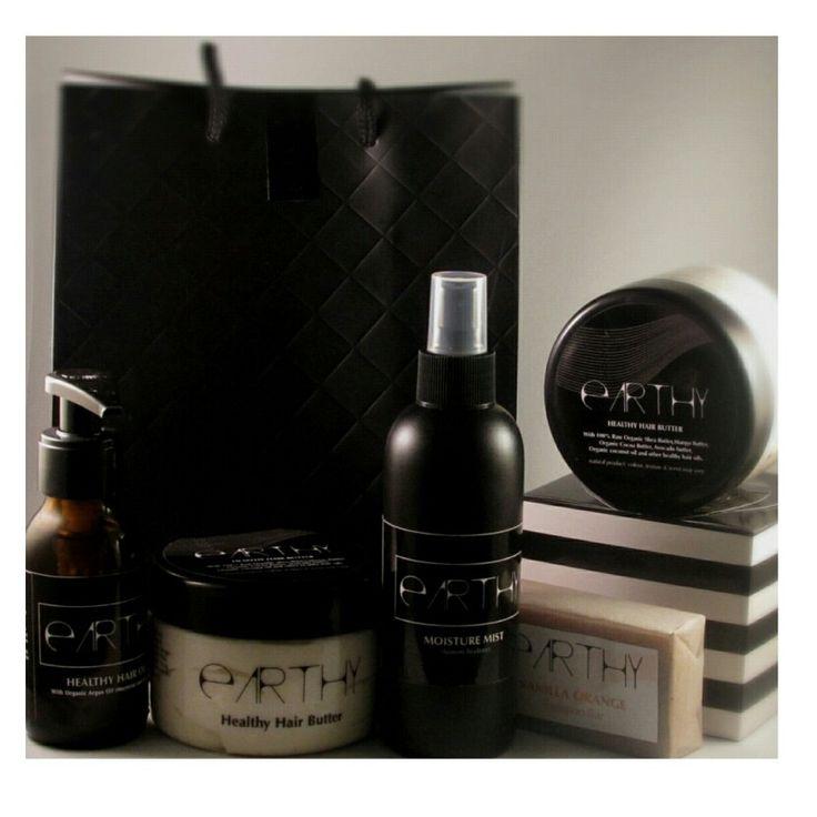 Eathy healthy hair combo. earthy.co.za/products