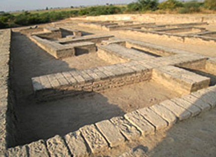 The best Known sites of the Harappan civilisation might in Pakistan,but lothal in Gujrat (the most significant Harappan site in India) is special.Excavations have revealed a large dockyard, the only one of its kind-leading archaeologists to believe that the city was an important stop on the trade route between the Harappan cities in Sindh and the peninsula of saurashtra. A large mud-brick embankment surriunds the neatly laid-out settlement, which has a well-planned drainage system. A model…