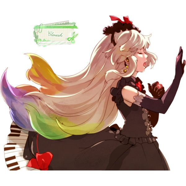 Render mayu vocaloid musique piano chant - Vocaloid - Musiques - PNG... ❤ liked on Polyvore featuring anime and filler
