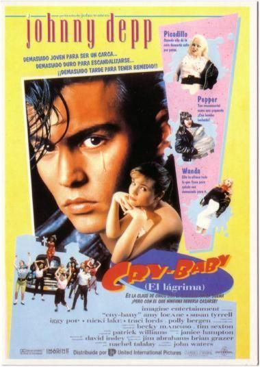Cry Baby Spanish poster postcard - dreamlanders Photo