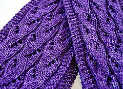 Falling Water Scarf - #freepattern #knitting #scarf  To learn how to get cash back on your crafting supplies when you shop online, and a ton of other things too, go to http://www.topcashbacksecret.com/59/get-cash-back
