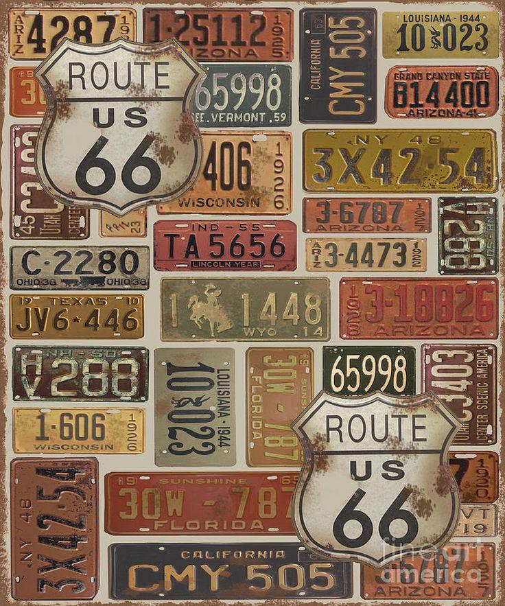 Route-66-2 Digital Art