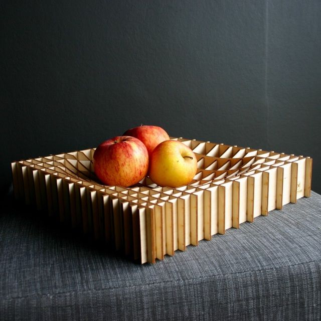 Square Grid Fruit Bowl - MULTIPLEXX