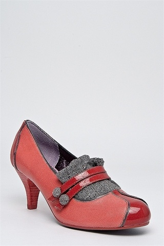 POETIC LICENCE  Love Letter Low Heel Shoe - Red