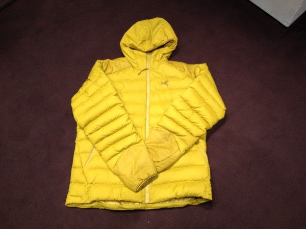 Arc'teryx #yellow #man #down #follifollie #collection
