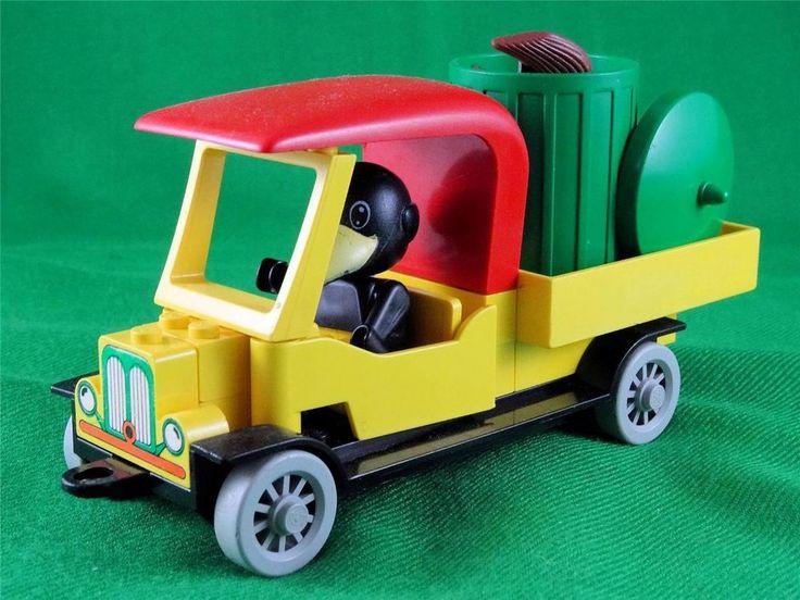Vintage 1980 Lego Fabuland set 3634 - CHARLIE CROW s CARRY-ALL + Extras