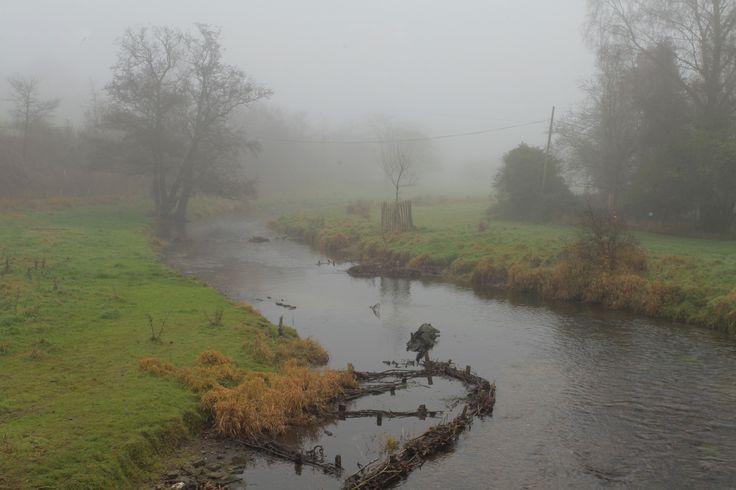 https://flic.kr/p/PLfVaE | Mistic River | River Darent @ Eynsford in the winter fog on the Kent Weald www.adamswaine.co.uk
