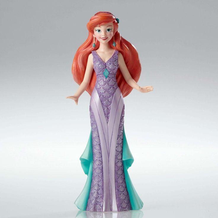 The Little Mermaid - Art Deco Ariel - Walt Disney Showcase Collection - World-Wide-Art.com - #disney #disneyshowcase #figurines #littlemermaid #artdeco