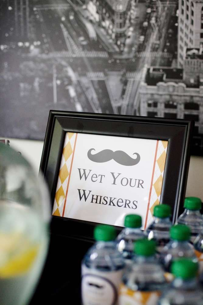 Mustaches / Little Man Birthday Party Ideas | Photo 49 of 50 | Catch My Party
