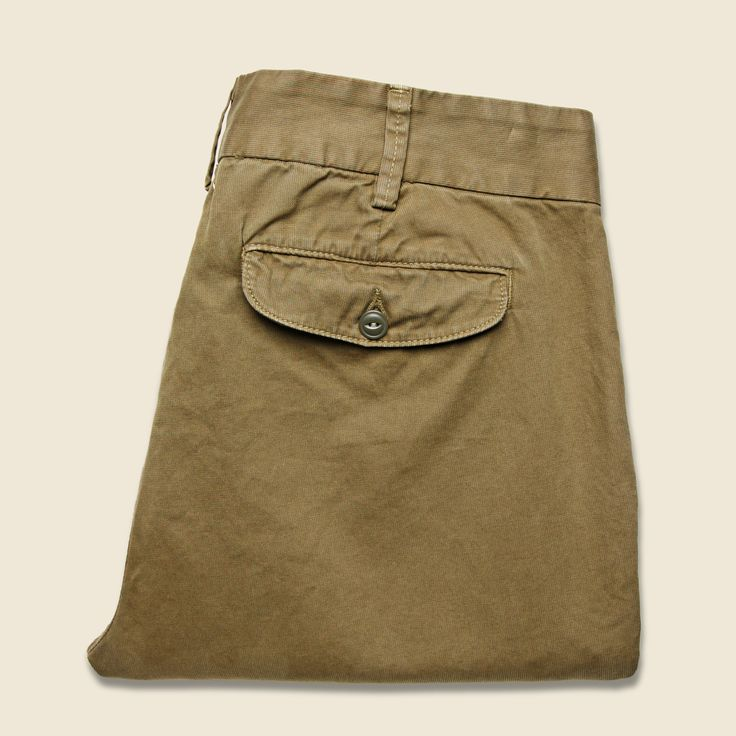 Bedford Cord Trouser - Tobacco