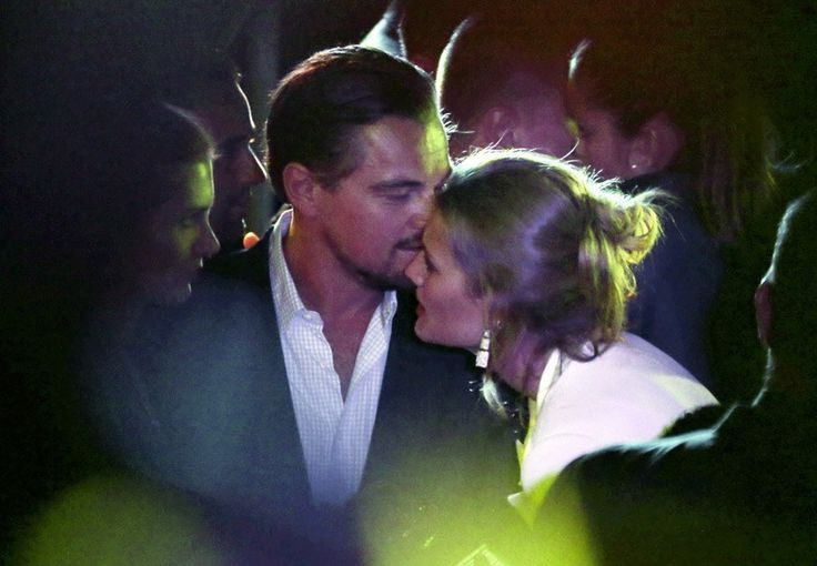 Leonardo DiCaprio and Toni Garrn -
