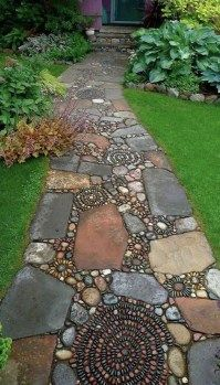 Brilliant Garden Path Gehwege Design-Ideen16