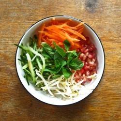 VIETNAMESE - Rice Noodle Salad