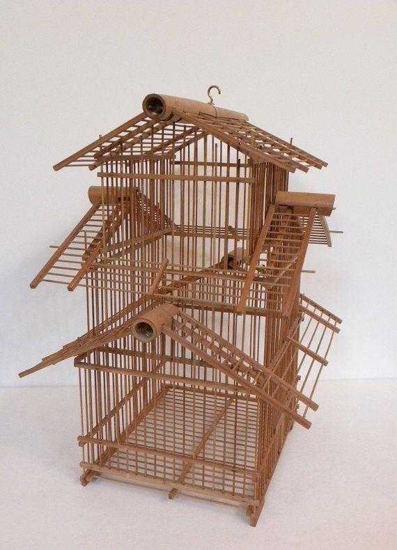 House style parakeet cage ideas