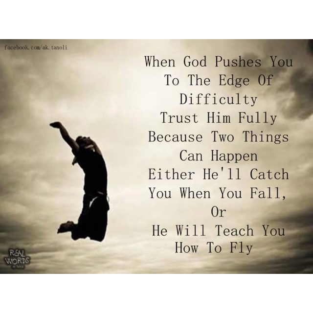 Fall or fly?: The Lord, God Will, Remember This, Trust God, Religious Quotes, God I, Funny Quotes, Inspiration Quotes, Love Quotes
