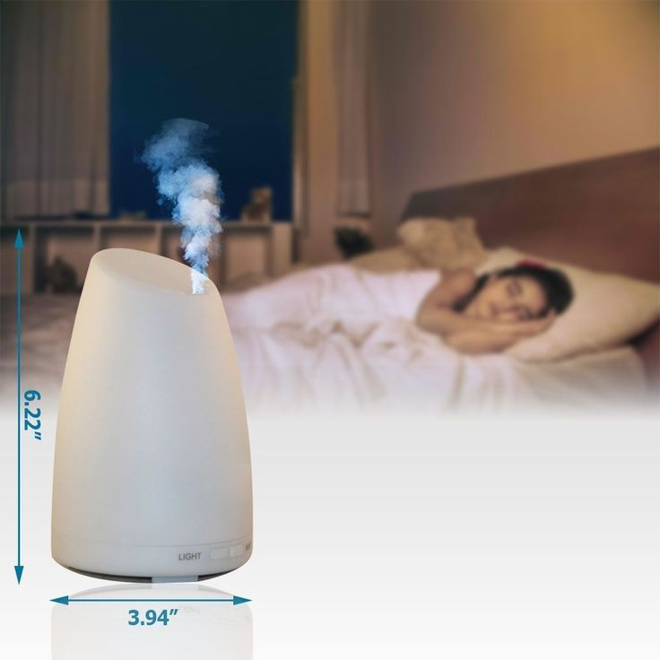 Aromatherapy Diffuser with 7 Color Changing LED Lamps FREE SHIPPING