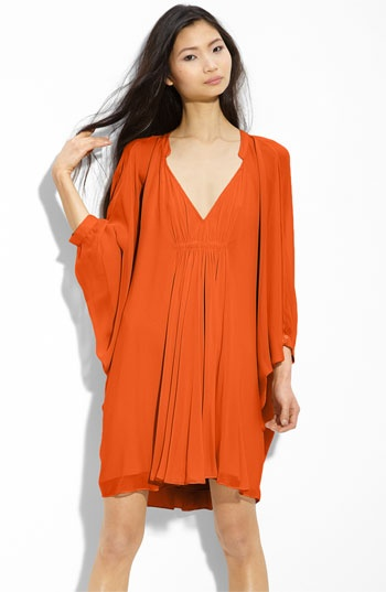Just bought this dress - love it!  Looks great with a belt.  Can be dressed up or down.