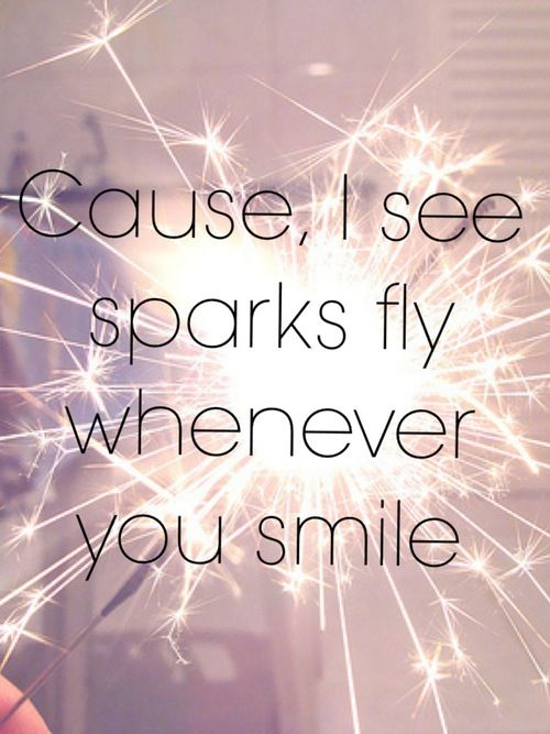 Sparks Fly by Taylor Swift on the Speak Now album number 2…I may or may not know A LOT about her…no biggy ;)
