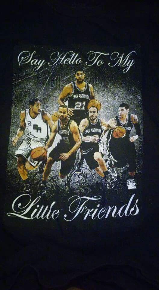 San Antonio Spurs. Go Spurs Go