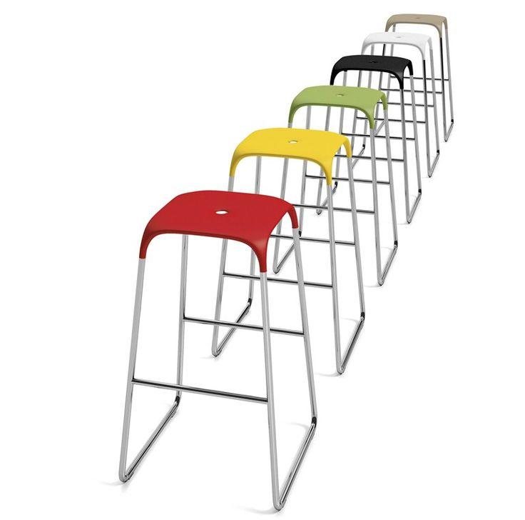 Mobilier chr : tabouret haut design Bobo