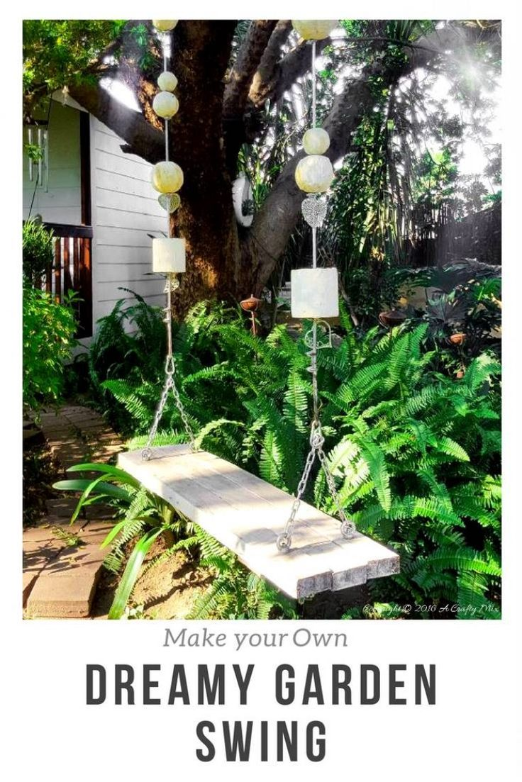 How we built a dreamy garden swing for under $15