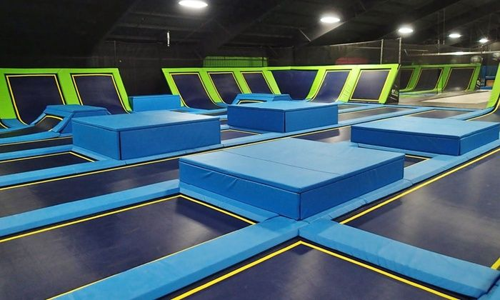 Fly High Trampoline Park - Fort Collins: Jump Pass for 1 or 4 or Birthday Party Package at Fly High Trampoline Park (Up to 50% Off). 6 Options Available.